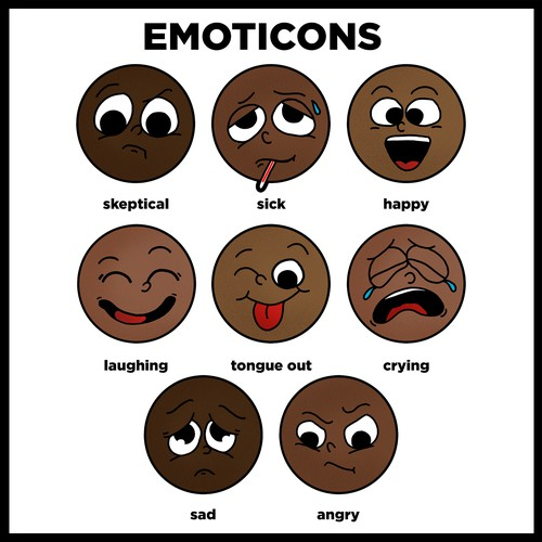 Emoticons illustration