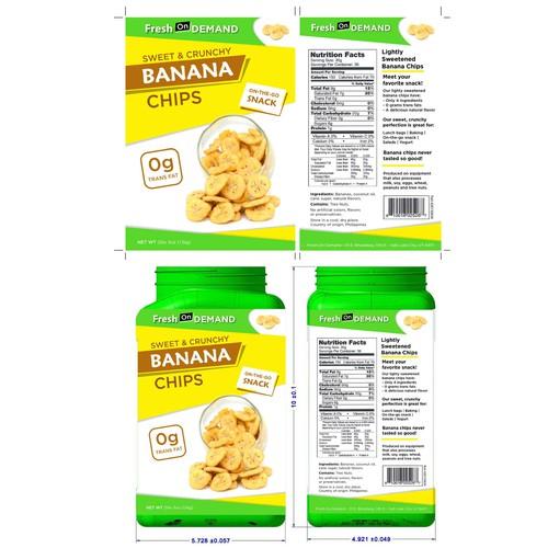 Sweet & Crunchy - BANANA CHIPS