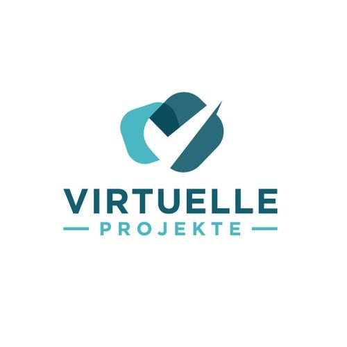 Virtuele Projekte logo