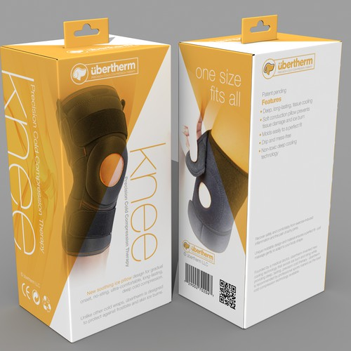 Knee Brace Packaging Concept