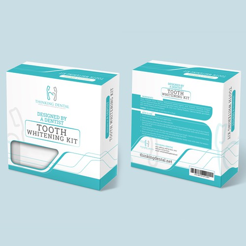 Packaging Design for Tooth Whitening Kit