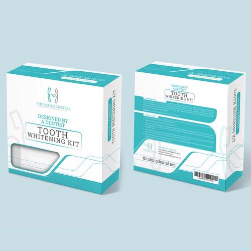 Packaging Design for Tooth Whitening Kit