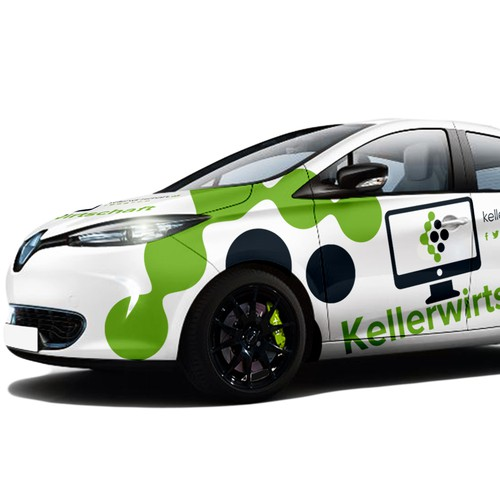 RENAULT ZOE | CAR WRAP DESIGN