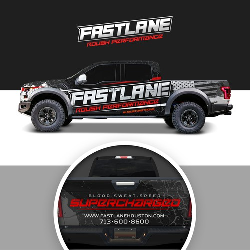 Vehicle Wrap for FASTLANE