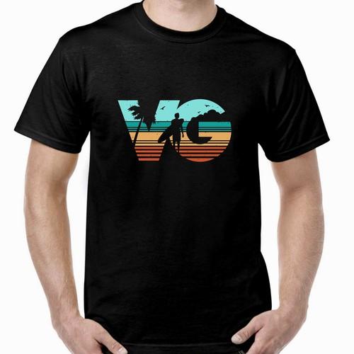T Shirt design for VG