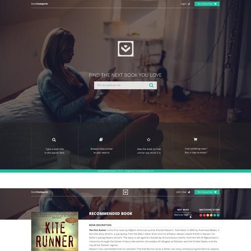 "Web Site for ""Book Comparer"""