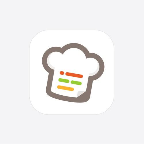 App icon design for Recipal