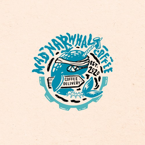 Coffee Delivery Logo