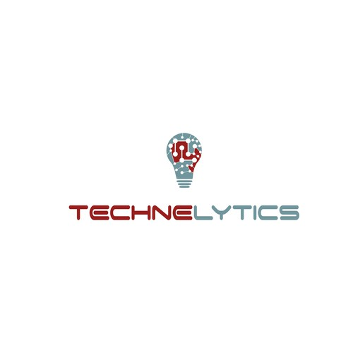 High energy, bold, creative data analytics company logo