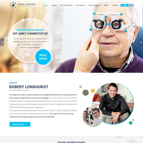 Website design for Robart
