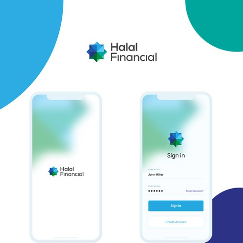 Banking App Ui - Halal Financial App