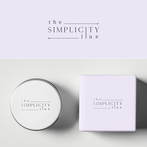 Simple and elegant logo for balm product.