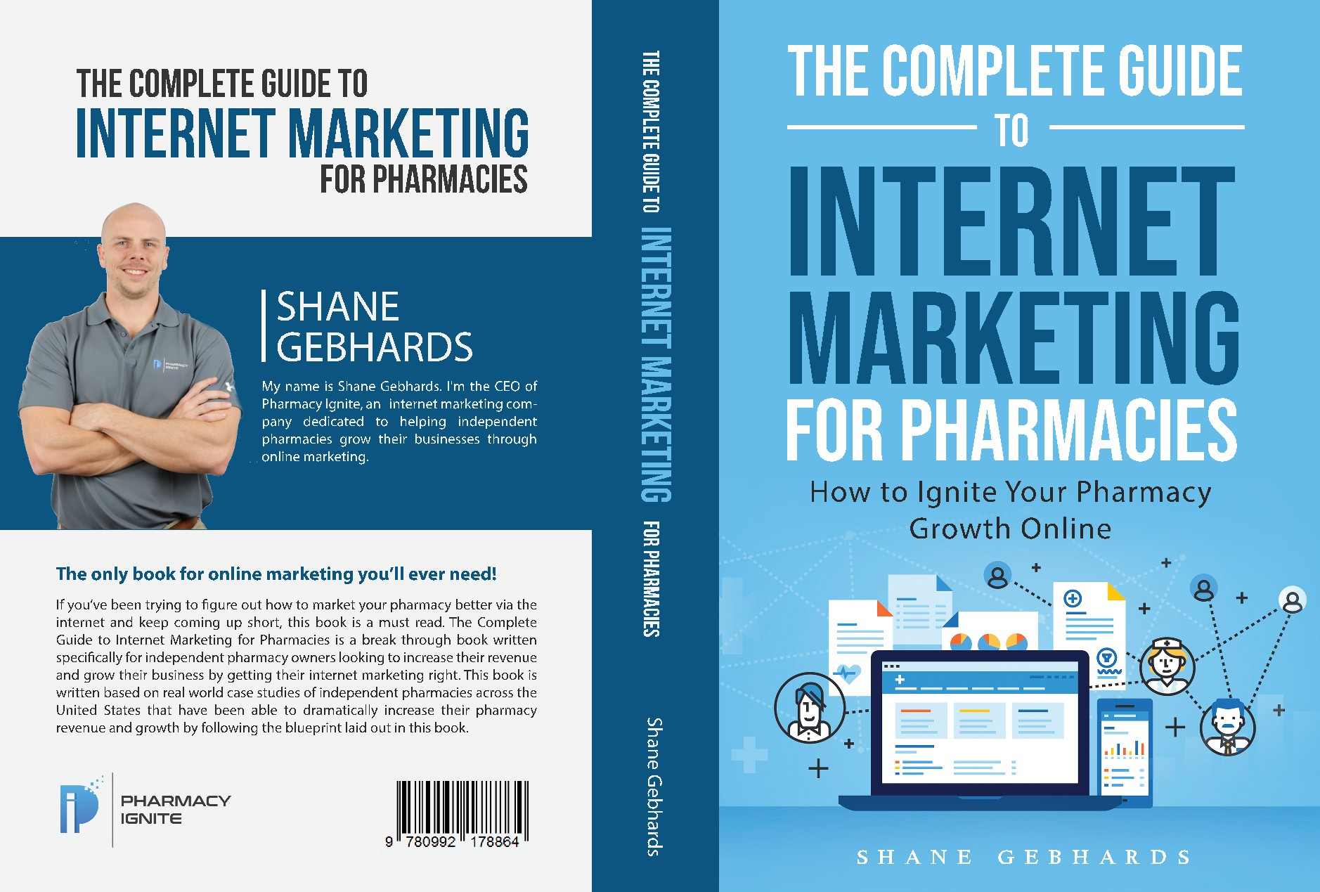 Pharmacy Digital Marketing Agency Needs a killer book cover design!