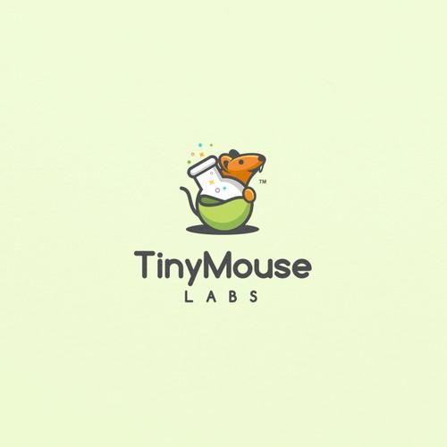 Fun Logo concept for TinyMouse Labs