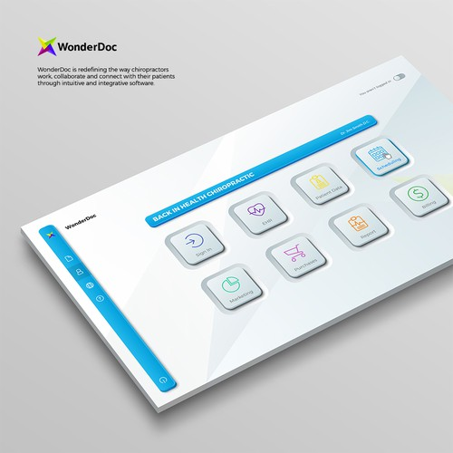 WonderDoc Software UI