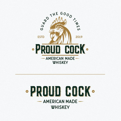 Logo for a whiskey brand