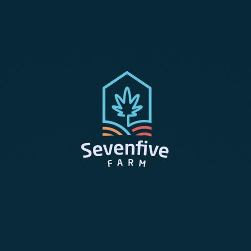 Logo Concept for a Cannabis Farm in Colorado