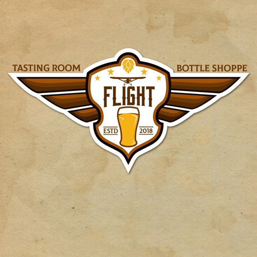 Logo for beer tasting room