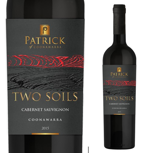 Wine label for existing brand distribution partnership
