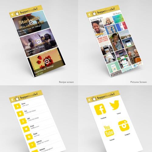 Suppertime Chef App Design