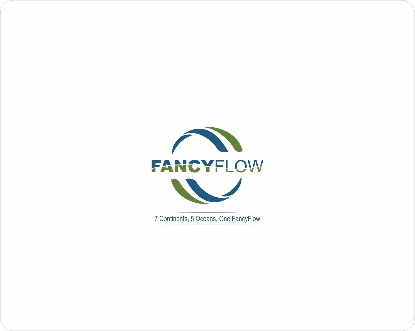 FancyFlow needs a fancy, simple image for a global market