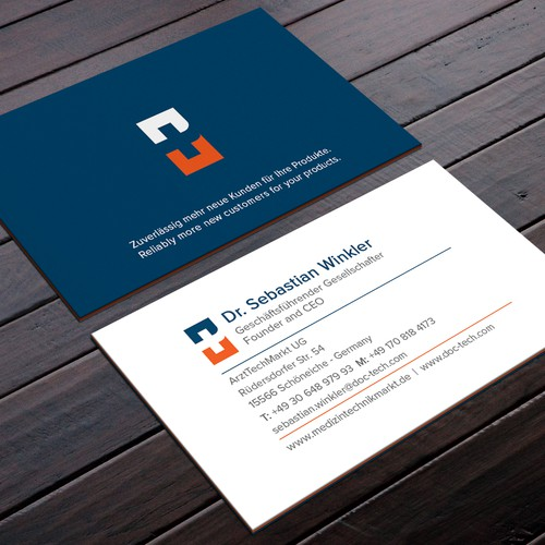 Best Business Card Design that bleeds trust
