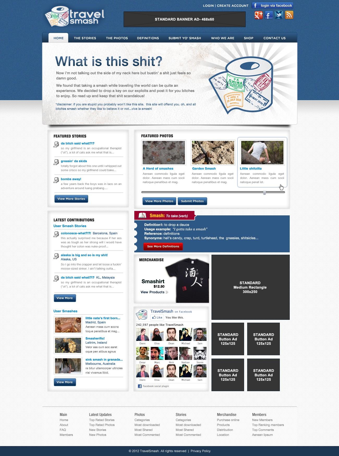 TravelSmash.com needs a new website design
