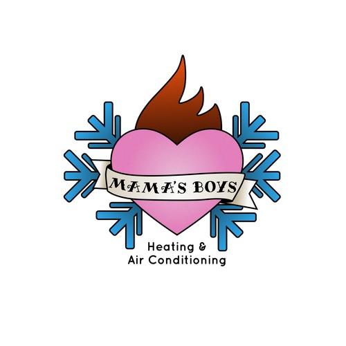 Heating and AC Company Logo