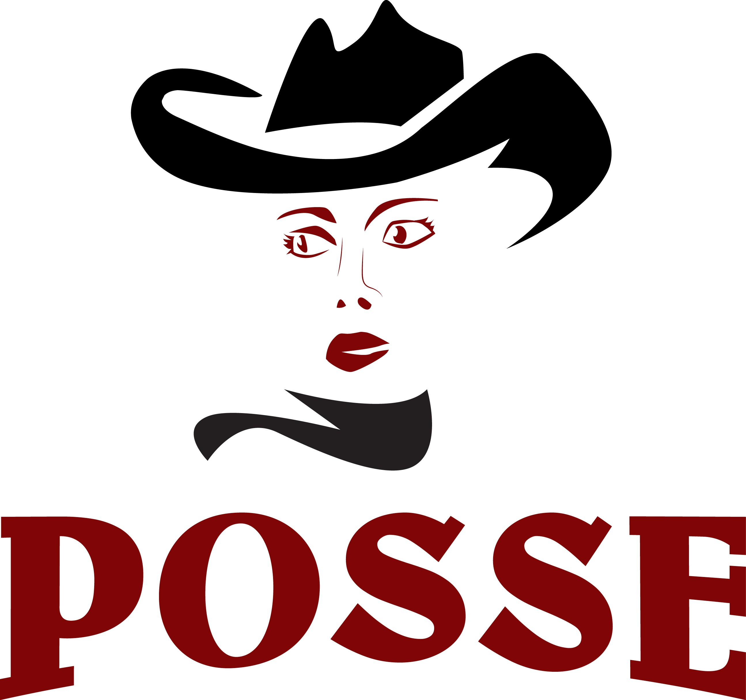 Posse Liquors - adult beverages - with a twist - logo and more...guaranteed