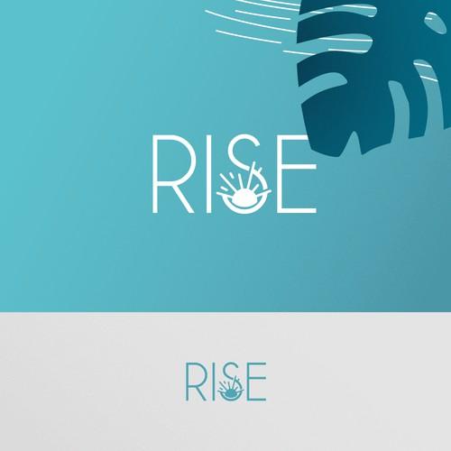 Logo Design for Rise-Pediatric Therapy