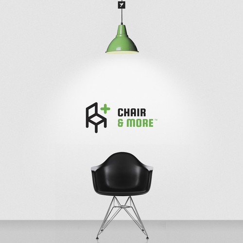 Chair and More logo design