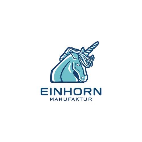 Make an unicornique logo - work with a unicorn
