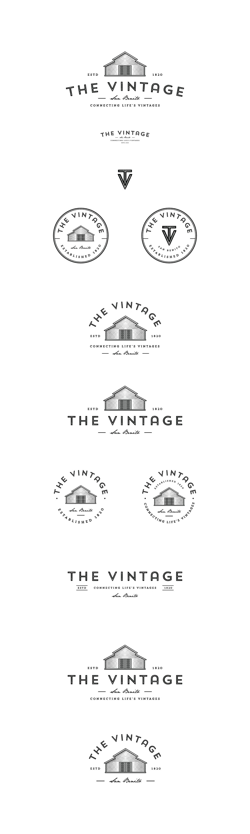 "Luxury Home Community ""The Vintage"" Needs a Logo"