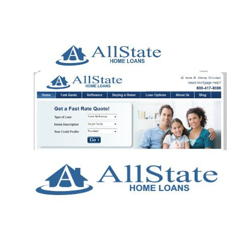 logo for AllState Home Loans