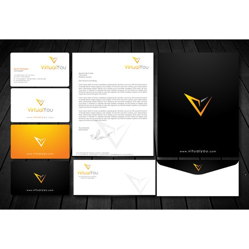 Create the next stationery for Virtual You