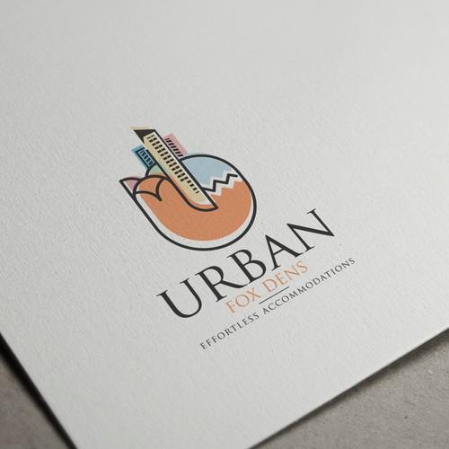 Logo Design Concept for Urban Fox Dens