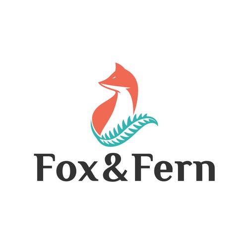 logo design for fox&fern