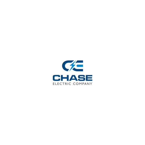 Logo concept for 'Chase Electric Company'