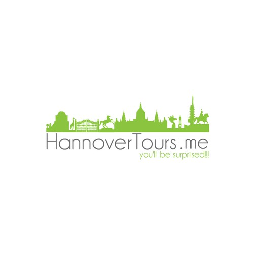 Create a new logo for HannoverTours.me to attract many more visitors to the town of Hannover