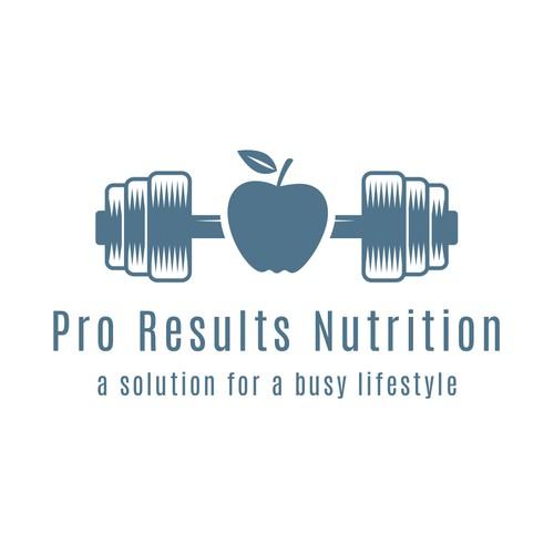 Logo für einen Fitnesscoach
