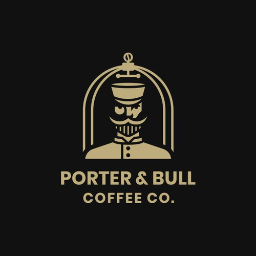 Porter and Bull coffee roastery logo