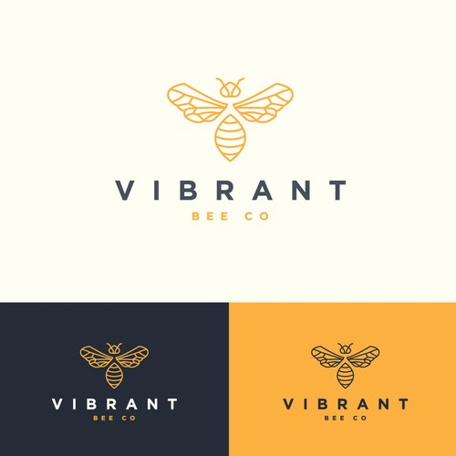 Logo design for beekeeping company
