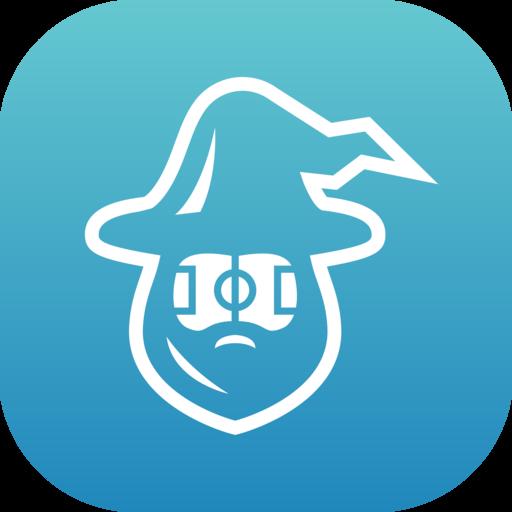 "Design a logo for a mobile App Soccer Game called ""Football Wizard"""