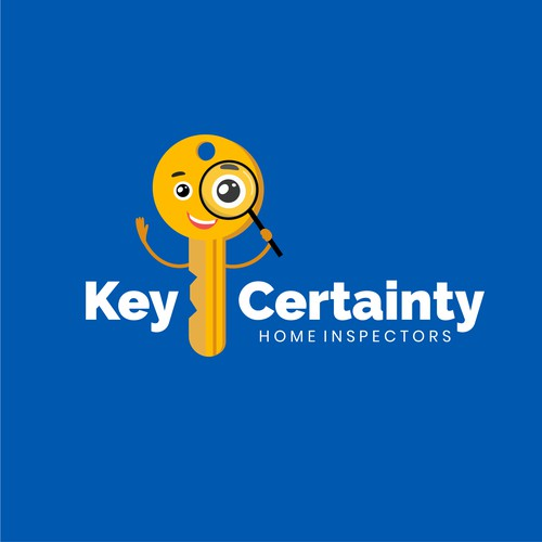 Character logo for home inspectors