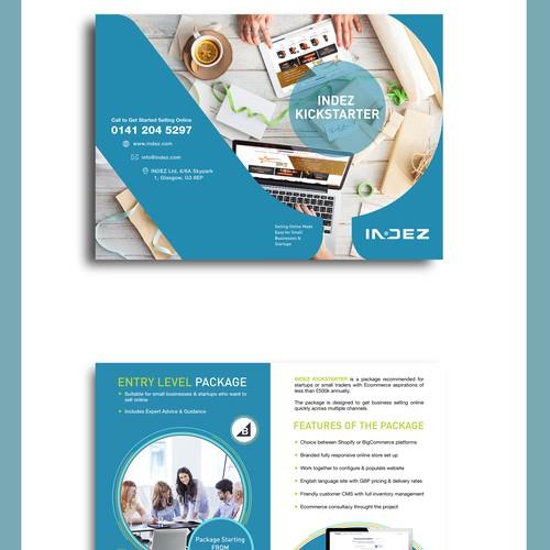 Bi-Fold brochure for INDEZ