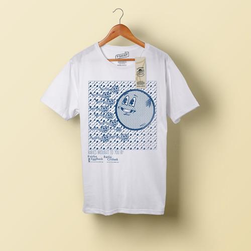 hipster sperm shirt