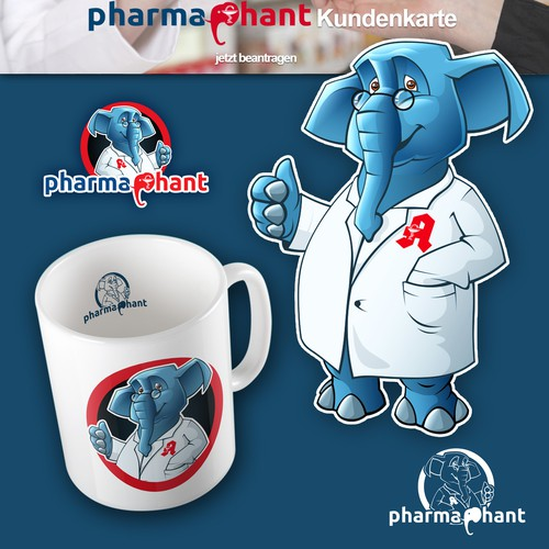 create an apothecary elephant, a pharmaphant