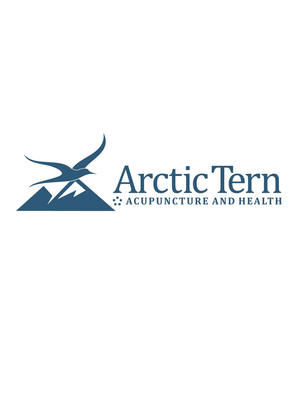 Create a standout logo featuring Arctic Tern Acupuncture and Health
