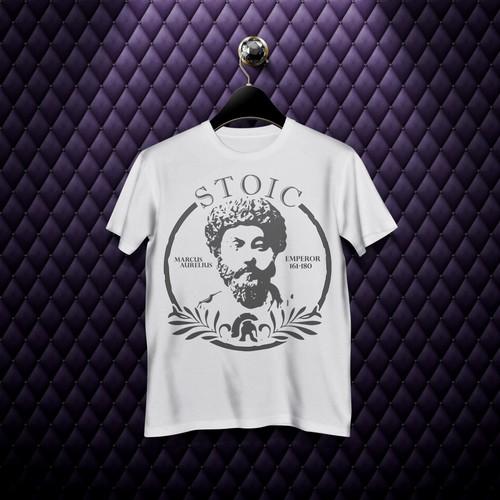 T-shirt Marcus Aurelius