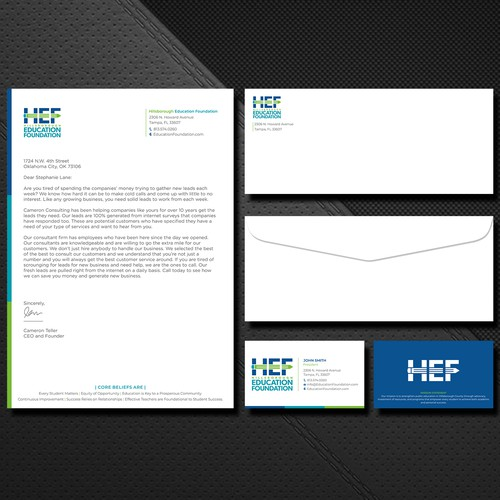 Hef education stationery